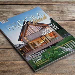 Izšla je edina slovenska revija namenjena bivanju z lesom